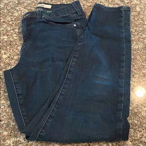 Topshop Moto Leigh Denim Jeans Size 25